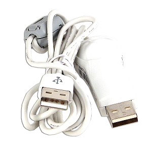 5-foot SuperLink USBLK-005 USB A (M) to A (M) Data Cable w/ Ferr