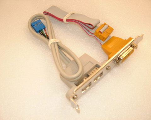 Game Port Dual Usb Bracket