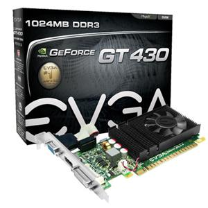 Z SOLD OUT EVGA 01G-P3-1430-LR GeForce GT 430 Graphics Card - 70