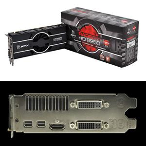 XFX HD-695X-ZNFC Radeon HD 6950 Graphics Card - 800 MHz Core - 1
