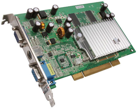 PNY GeForce FX 5200 256MB 128-bit DDR PCI - VCGFX522PEB