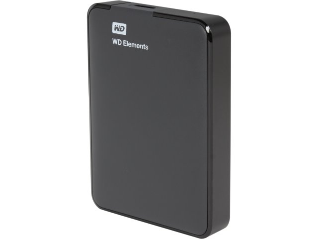 WD 2TB WD Elements Portable USB 3.0 Hard Drive WDBU6Y0020BBK-NES