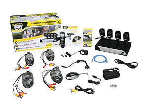 Night Owl LION-4500 Video Surveillance System 4CH H.264 INTERNET