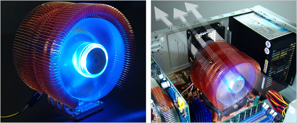 Zalman CNPS9500 LED CPU Cooler