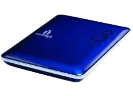 iomega eGo Compact 500GB Blue Portable Hard (DROP GUARD)
