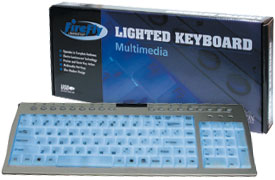 Firefly Multimedia lighted Keyboard - USB
