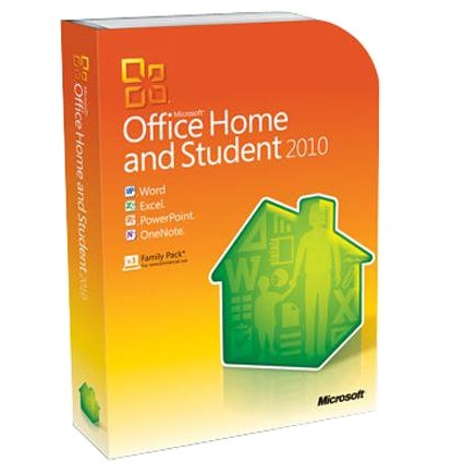 Microsoft Office 2010 Home & Student 3PC-User