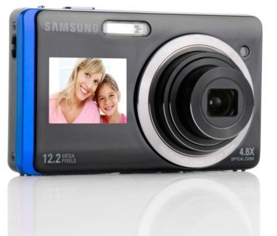 "Samsung DualView TL220 Digital Camera 3"" Touch 1.5"" Front screen"