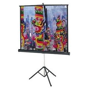 "Da-Lite 85"" 60"" X 60"" Portable and Tripod Projection"