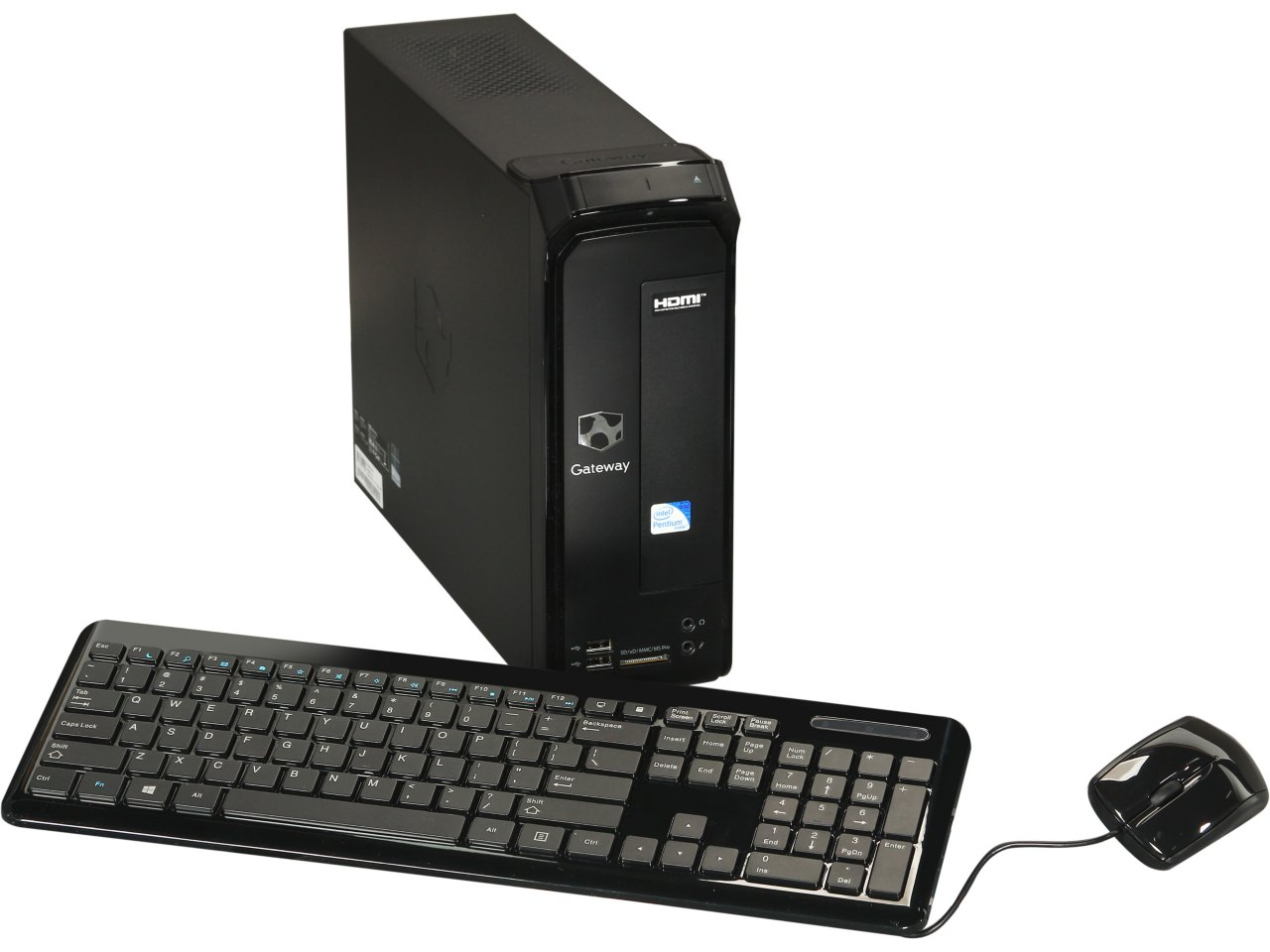 z out of stock  Gateway Black SX2865-UR15 Desktop PC with Intel