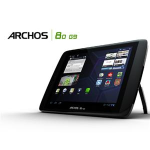 "Archos 80 G9 501895 8"" 16 GB Slate Tablet Wi-Fi 4.0 ice cream sa"